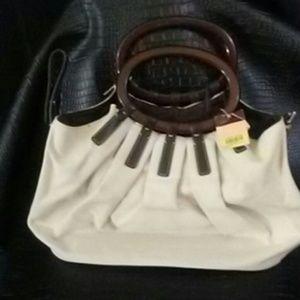 Antonio Melani Canvas Handbag/ Purse NWT